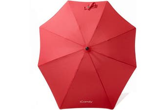 (Chilli Red) - iCandy Universal Parasol, Chilli Red