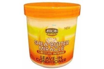 ((confezione da 3)) - African Pride Shea Butter Miracle Leave-In Conditioner 440ml
