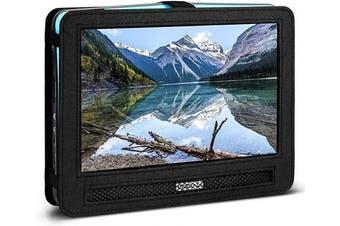 COOAU Portable Car Headrest Mount Strap Case for Portable DVD player (25cm - 27cm )