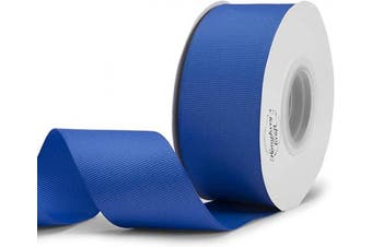 (2.5cm  - 1.3cm  X 25 Yards, Blue) - Humphrey's Craft 3.8cm Royal Blue Grosgrain Ribbon - 25 Yards Variety of Colour for Crafts DIY Gift Wrapping Making Hair Bows Decoration Wedding Scrapbooking.