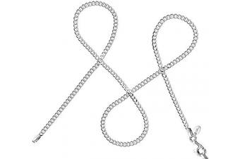 """(16.0 Inches) - 925 Silver Chain Company - Sterling Silver 16"""" 18"""" 20"""" 22"""" Inch 1.5mm Thick Italian Curb Chain Necklace"""