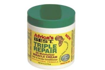 (Triple Repair) - Africa's Best Triple Repair Oil Moisturiser H & S conditioner 180ml
