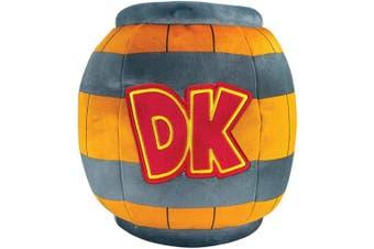 Club Mocchi Mocchi Nintendo Donkey Kong DK Barrel Mega 38cm Plush Stuffed Toy