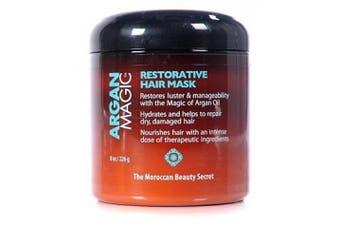Argan Magic Restorative Hair Mask 240ml Jar