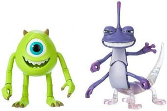 Disney Pixar Mike and Randall Action Figure Set by Toybox – Monsters, Inc.