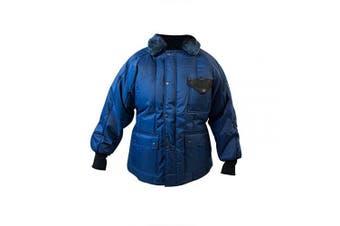 (Large) - UltraSource Insulated Freezer Coat, Heavy Weight, Size Large