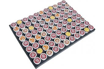 (88 Pod Drawer Organiser) - Case Club K-Pod Drawer Organiser fits Keurig Coffee Pods