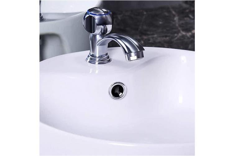 Zhehao 8 Pieces Sink Overflow Ring Kitchen Bathroom Basin Trim Bath Sink Hole Round Overflow Drain Cap Cover Insert In Hole Spares Matt Blatt