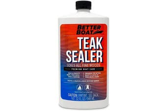 Teak Sealer for Teak and Other Fine Woods Boats and Wood Furniture Seal Marine Deck and Oil 950ml