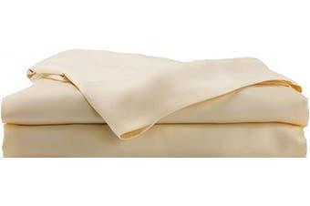 (Twin, Mellow Yellow) - Hotel Sheets Direct Bamboo Bed Sheet Set 100% Viscose from Bamboo Sheet Set (Twin, Mellow Yellow)