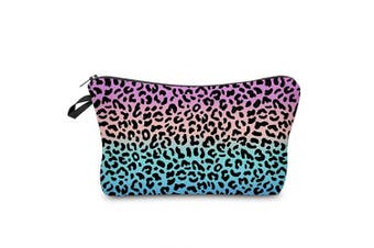Makeup Pouch Cosmetic Bag and Toiletry Bag For Accessories Leopard Travel Bag