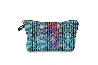 Makeup Pouch Cosmetic Bag and Toiletry Bag For Accessories Rainbow Travel Bag