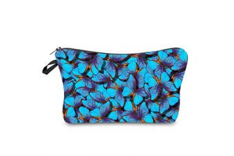 Makeup Pouch Cosmetic Bag and Toiletry Bag For Accessories Butterflies Travel Bag