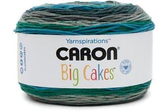 (Shadowberry) - Caron Big Cakes Self Striping Yarn ~ 603 yd/551 m / 310ml/300 g Each (Shadowberry)