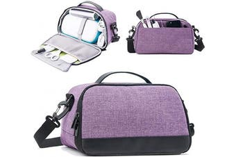 (Bag, Light Purple) - BGD-DG Carrying Case Compatible with Cricut Joy Machine, Cricut Joy Starter Tool Set, Fine Point Pen and Other Supplies, Compact and Portable, Light Purple (Bag Only)