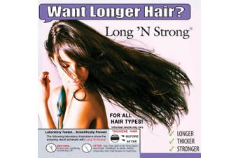 Want Longer Hair. Want Stronger Hair. Grow Hair Fast! Buy Long 'N Strong® - Complete Treatment Set (Lotion, shampoo and texturizing serum) - Longer, Thicker Hair! - Split End Repair - Split end treatment!