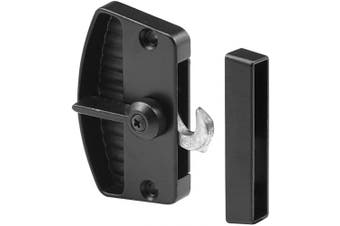 Prime-Line Products A 155 Screen Door Latch and Pull, Black