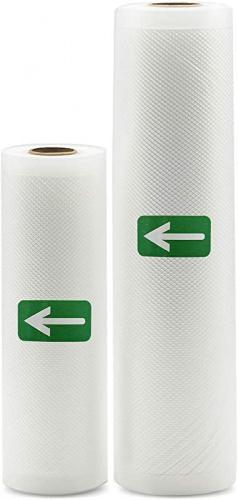 "2 Rolls Vacuum Sealer Bags 5/"" X 500CM Seal Storage Bag For Kitchen Food Saver"
