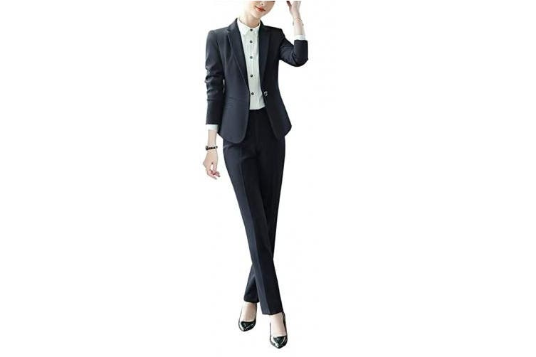 Dick Smith X Large Black 11 Susielady Women S Business Suit Pants Sets Formal Casual Blazer Pants Work Wear For Women Suits Suit Separates