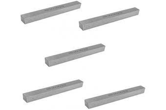 New 5 Pcs 0.6cm x 0.6cm x 5.1cm - 1.3cm HSS Square Tool Bit Lathe Fly Cutter Mill Blank