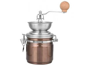 Manual Coffee Grinder, Adjustable Burr Mill,Stainless Steel Spice Nuts Grinding Mill,Hand Crank Mill for Office Home