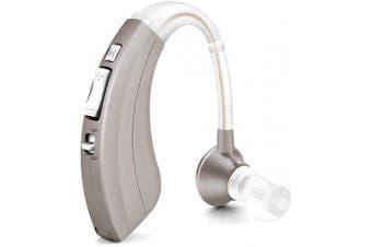 (sliver) - Britzgo Digital Personal Sound Amplifier, 500hr Battery Life, Silver, BHA-220