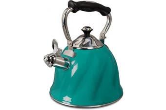 Gibson Alderton Tea kettle, 2.2ls, Green