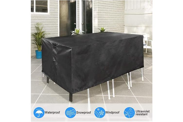 Hccbss Patio Table Cover Outdoor, Patio Table Covers Rectangular