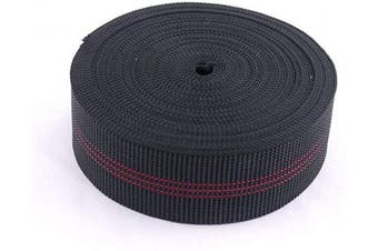 Houseables Chair Webbing, Elastic, Elasbelt, Two Inch (5.1cm ) Wide, Forty Ft (12m) Roll, Latex, DIY Upholstery, Furniture Repair and Modification, Stretchy Spring Alternative, Sofa, Couch, Chair