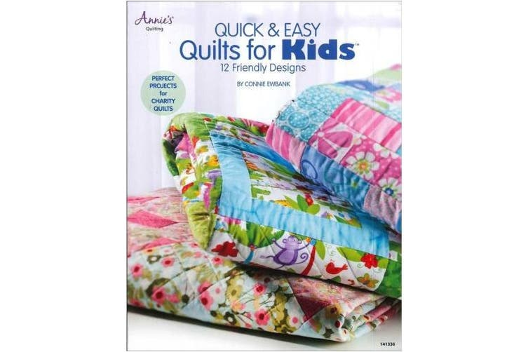 Annies ANN141336 Quick & Easy Quilts for Kids Back