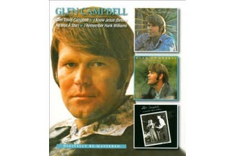 Glen Travis Campbell/I Knew Jesus (Before He Was a Star)/I Remember Hank Williams