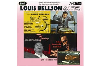 4 Classic Albums Plus - Louis Bellson - Just Jazz All Stars / Cto for Drums / At Flamingo