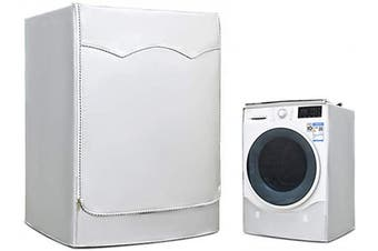 Dryer/washer cover, for Front Load dryer, Washing Machine Cover waterproof, W27 D33 H39 in Silver