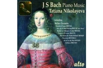 J.S. Bach: Piano Music
