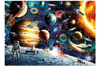1000 Pieces Puzzles for Adults - Planets in Space Jigsaw Puzzles (38cm x 25cm )