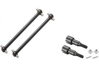 (M16106&M16107) - BEZGAR RC Car Spare Parts Apply for BEZGAR 6 RC Car Metal Rear Dogbones M16106 & M16107