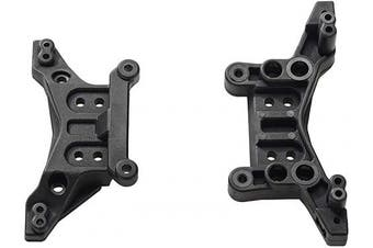 (M16010) - BEZGAR RC Car Spare Parts Apply for BEZGAR 6 RC Car Shock Towers (Front and Rear) M16010