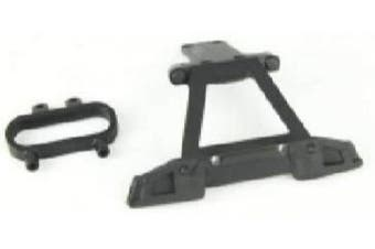 (M16005) - BEZGAR RC Car Spare Parts Apply 6 RC Car Rear Bumer Assembly M16005