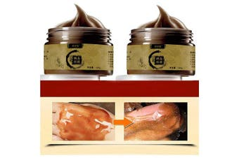 2PC Deep Cleansing Transitional Herbal Ginseng Black Head Removal Peel Off Masker 120g