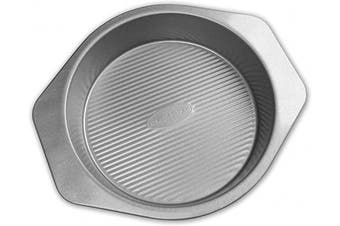 (9-Inch Round Cake Pan - New Version) - USA Pan American Bakeware Classics 23cm Round Cake Pan, Aluminzed Steel
