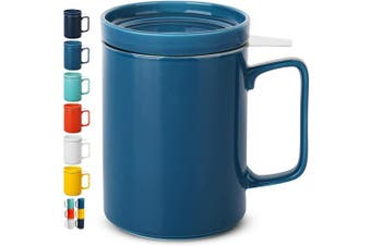 BTaT - Tea cups with infuser (Turquoise)