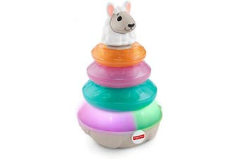 Fisher-Price Linkimals Lights & Colours Llama, Multi Colour
