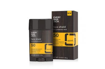 Every Man Jack SPF 50 Face Shield, Sun Stick, 45ml