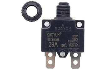 (29A) - KUOYUH Circuit Breaker 88 series 125/250VAC 50/60Hz (1pc) (29A)