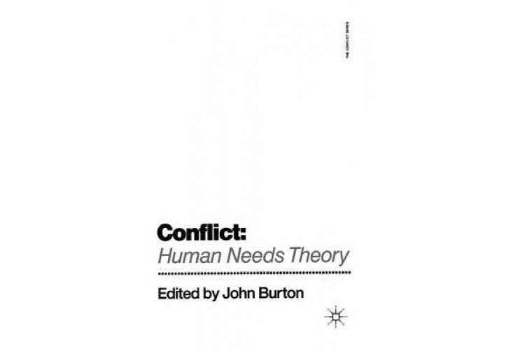 Conflict: Human Needs Theory (Conflict S.)
