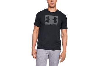 (XX-Large, Black (001)/Graphite) - Under Armour Men's Boxed Sportstyle Short Sleeve Shirt