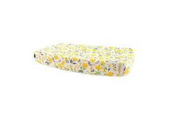 (Royal Garden) - Bebe au Lait Oh So Soft Muslin Changing Pad Cover - Royal Garden