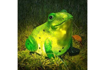 Frog Solar Garden Light Waterproof for Outdoor Patio Yard Decorations