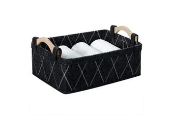 Small Baskets Collapsible Storage Bin Fabric Organiser for Shelves Underwear Socks Bra Towel Toiletry Baby Products Empty Gift Basket