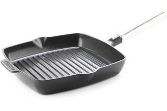 GreenPan SimmerLite 25cm Grill Pan, 3.4m, Slate